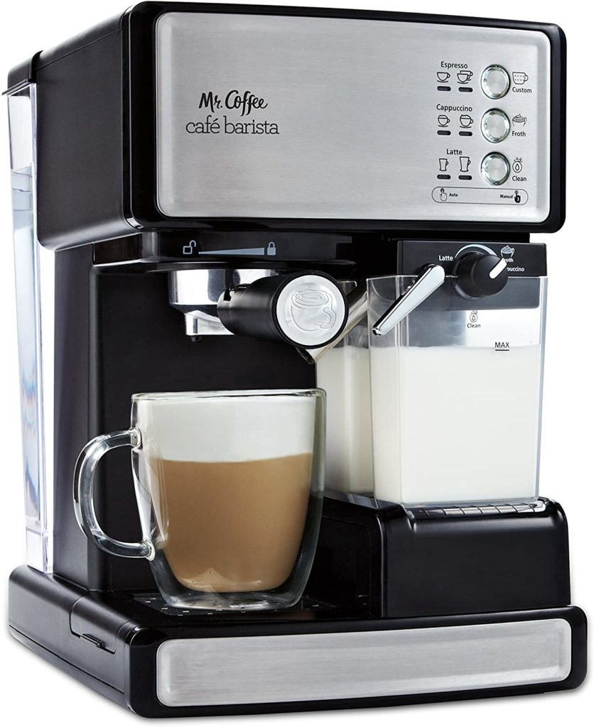 Mr. Coffee Espresso and Cappuccino Maker | Café Barista