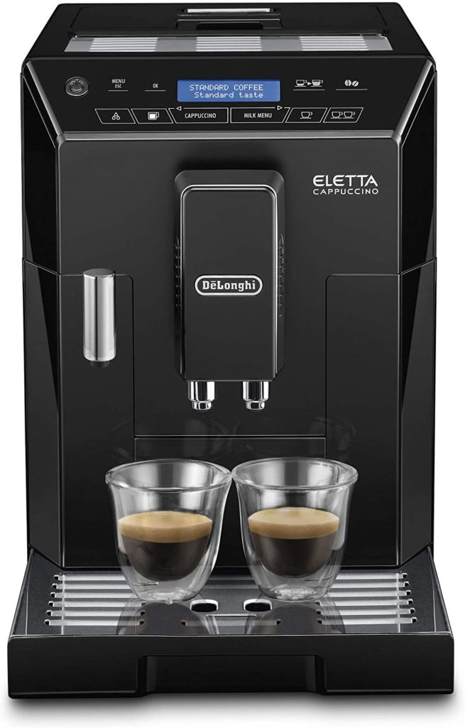 delongi eletta best coffee makers with grinder