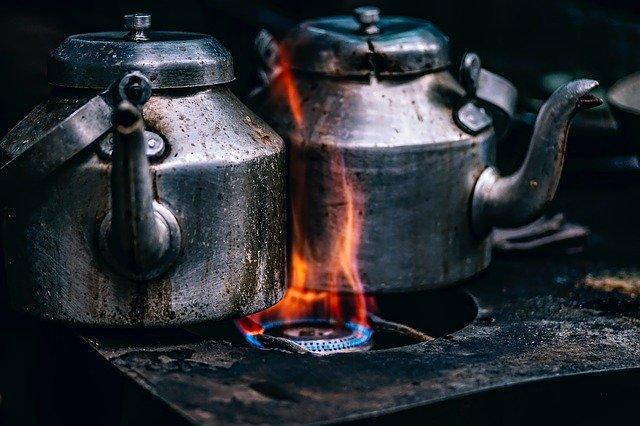 heat coffee